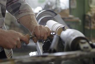 Tornitura legno manuale