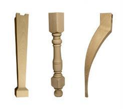 Gambe tavoli in legno, produzione gambe per tavoli | Torneria Friulana