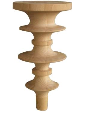 "Occasional table beech leg ""ART. CORALLO"""