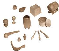 Piedini finalini distanziatori supporti fuselli ed for Hobbistica legno